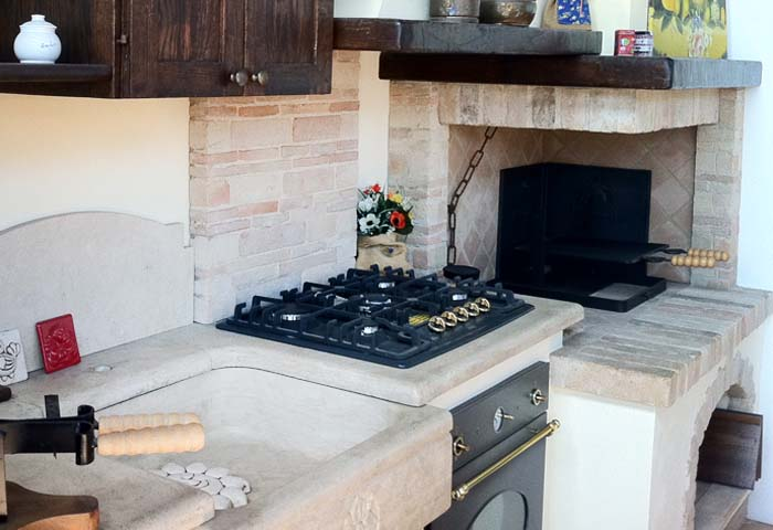 Best caminetto per cucinare photos ideas design 2017 - Stufe a legna con forno e piano cottura ...