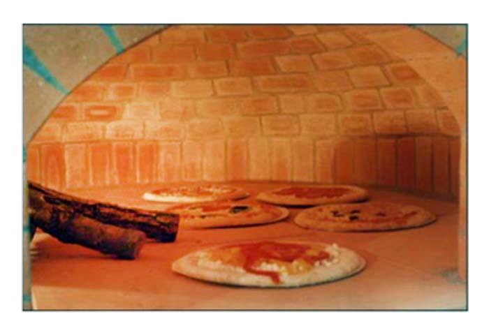 Forni per esterno for Forno a legna in mattoni refrattari