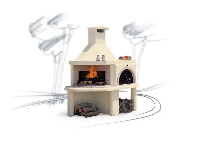 Nuraghe forni per esterno - Forni a legna per esterno in muratura ...