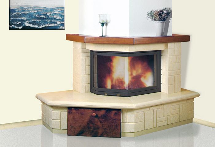 Rivestimento In Legno Per Termocamino : Rivestimento caminetti in marmo